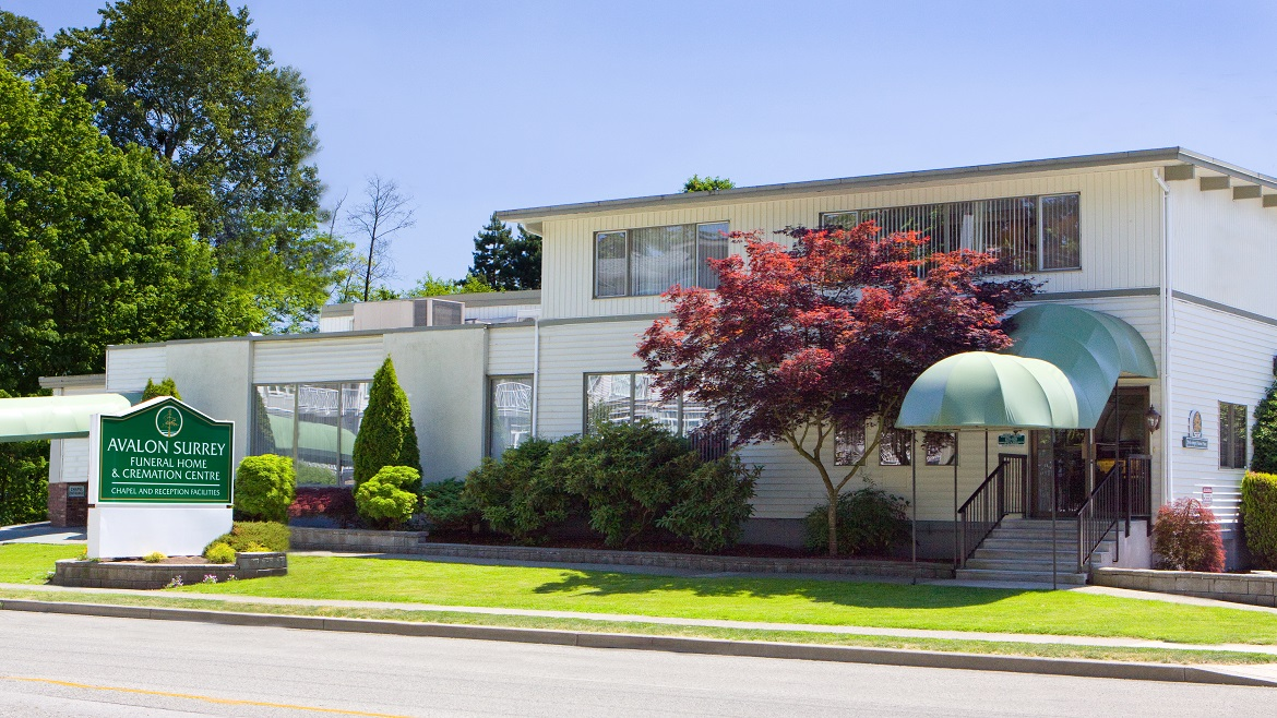 Avalon Funeral Home Surrey Bc