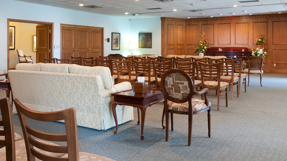 Marcotte Funeral Home- Chapel