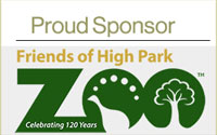 Proud Sponsor Friends of High Park Zoo