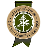 10 years of Service - Caring for families since 2015