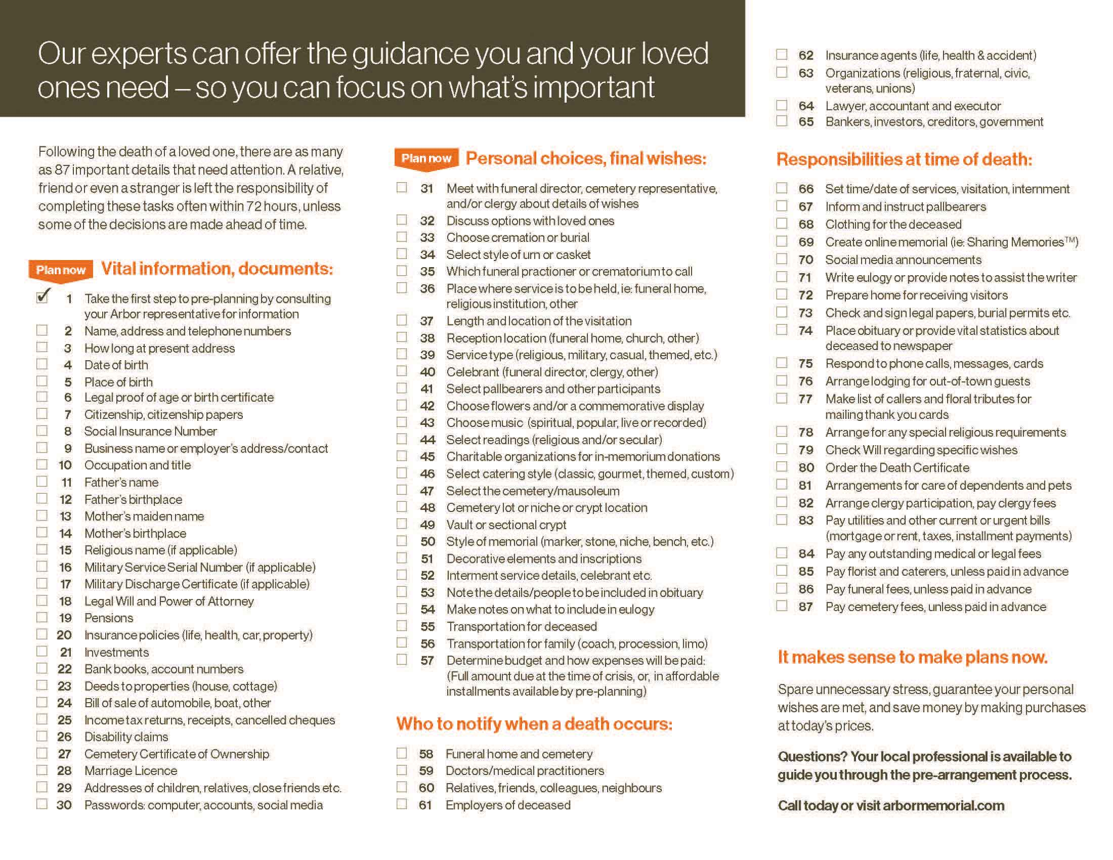 87 Decisions Brochure Page 2