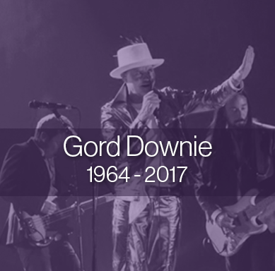 Gord Downie Tribute image