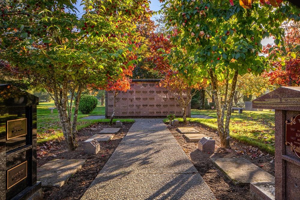 Cedar Valley Memorial Gardens and Cemetery in Cedar, BC