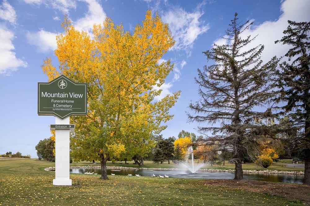 Calgary Cemetery Mountain View Memorial Gardens