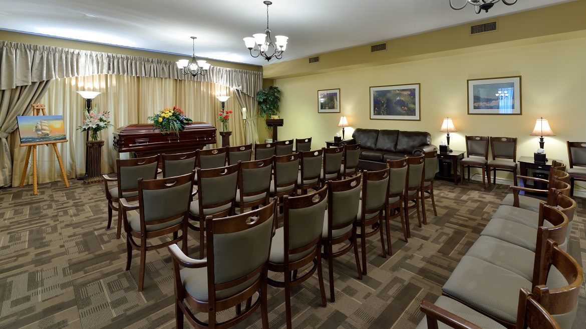 Chapel Room with seating for 75 people