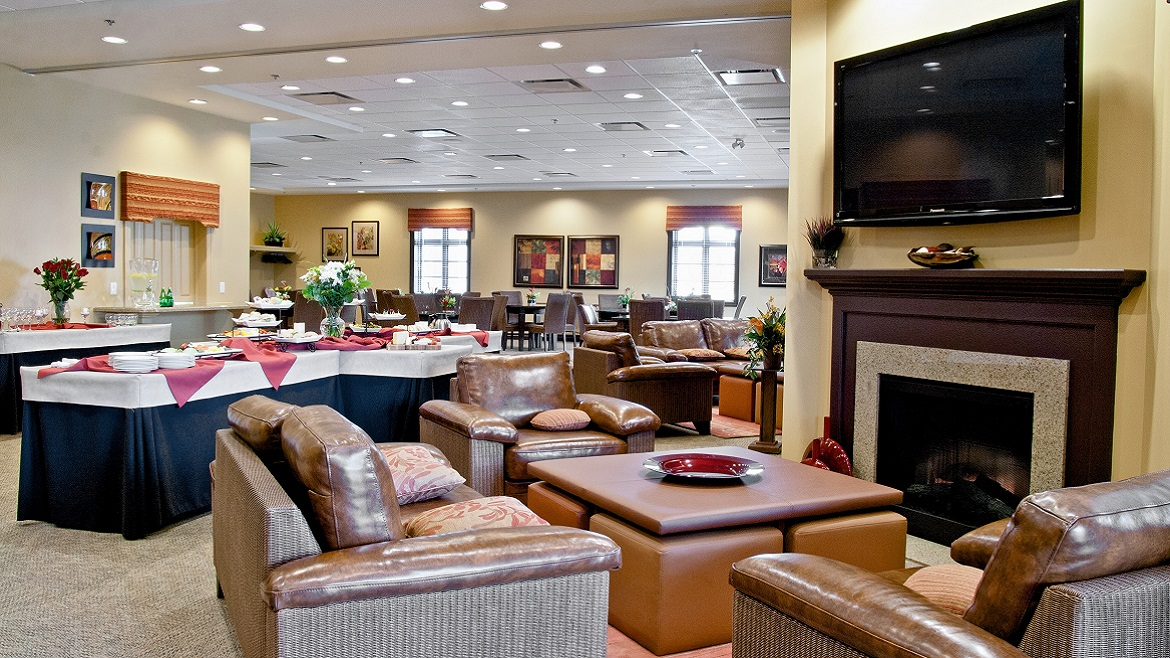 On-site Funeral Home for receptions