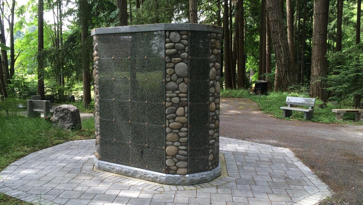 Cemetery In Cedar Bc Cedar Valley Memorial Gardens