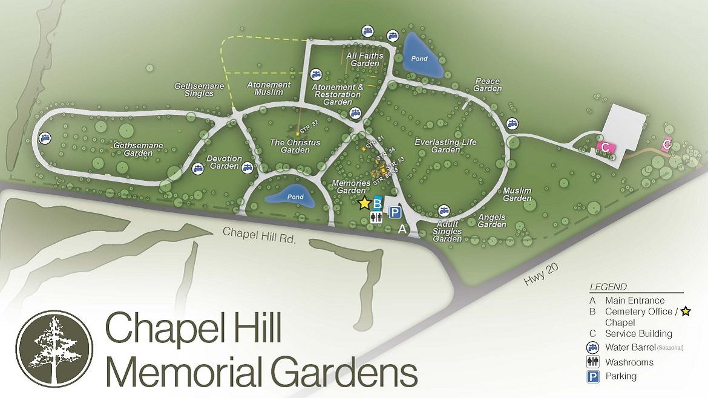 Cemetery In Stoney Creek On Chapel Hill Memorial Gardens
