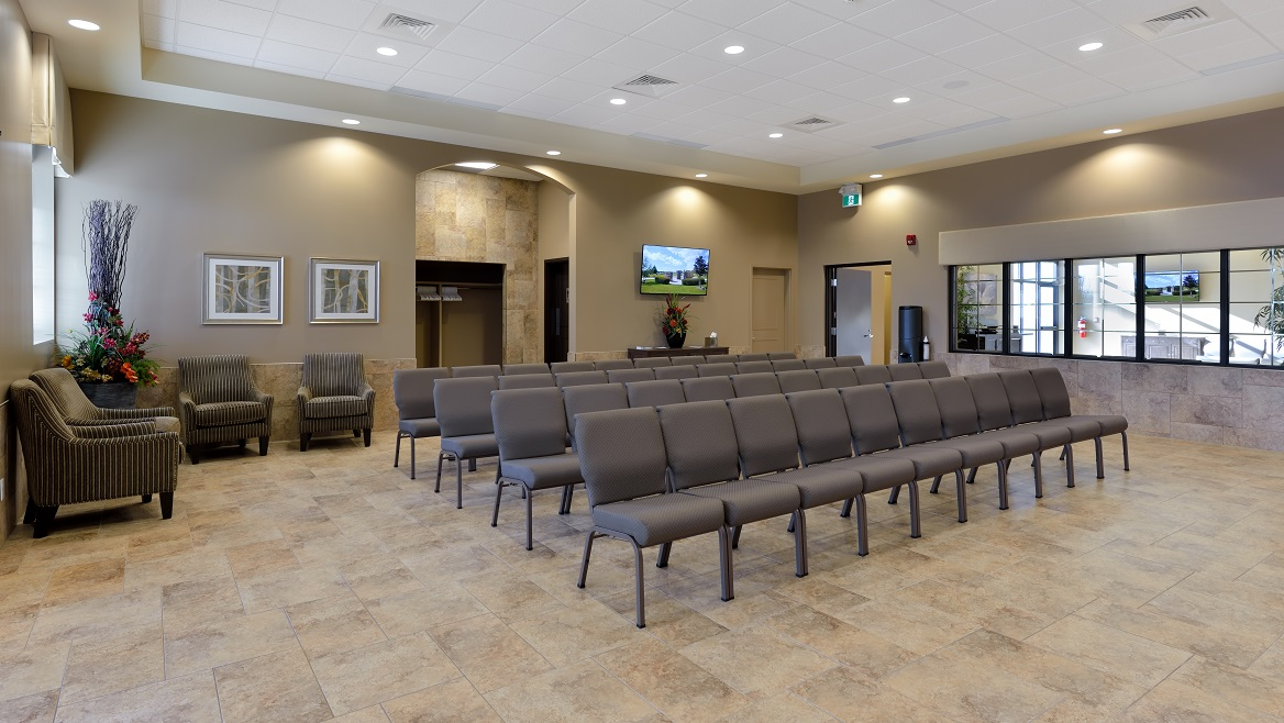Modern Funeral Home Design hamil funeral home Modern Funeral Home Located On The Cemetery Grounds