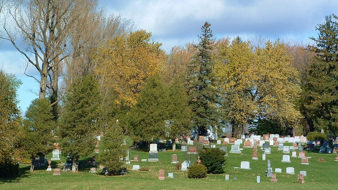 Traditional burial grounds