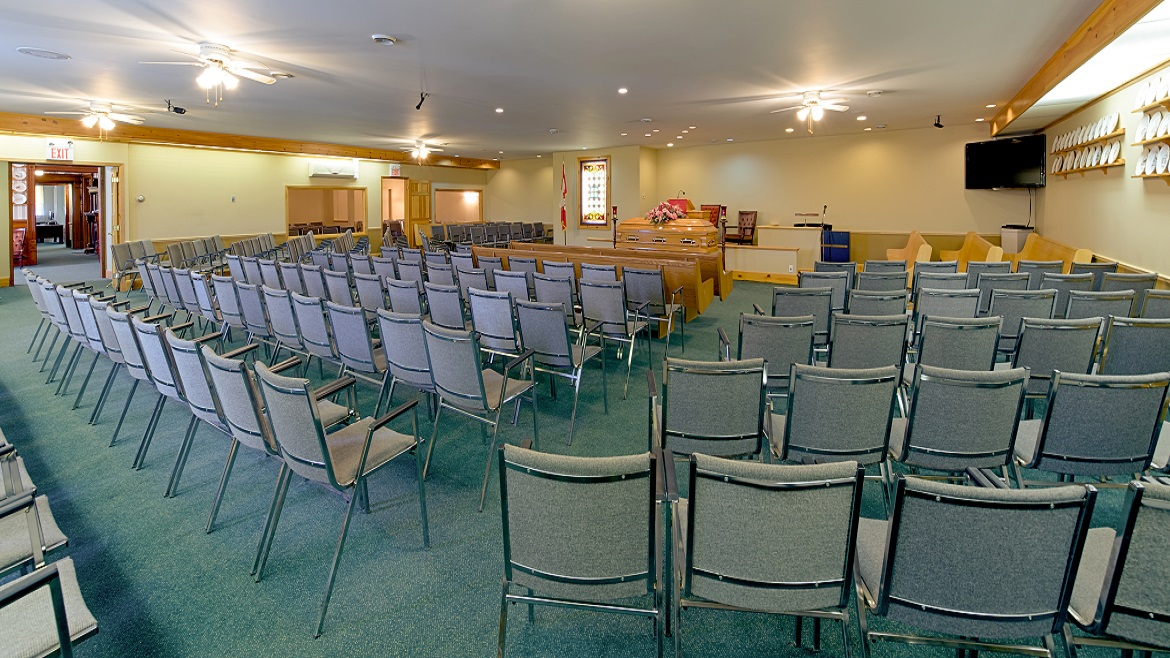 Chapel can accommodate many people