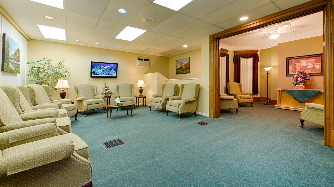 Intimate visitation rooms