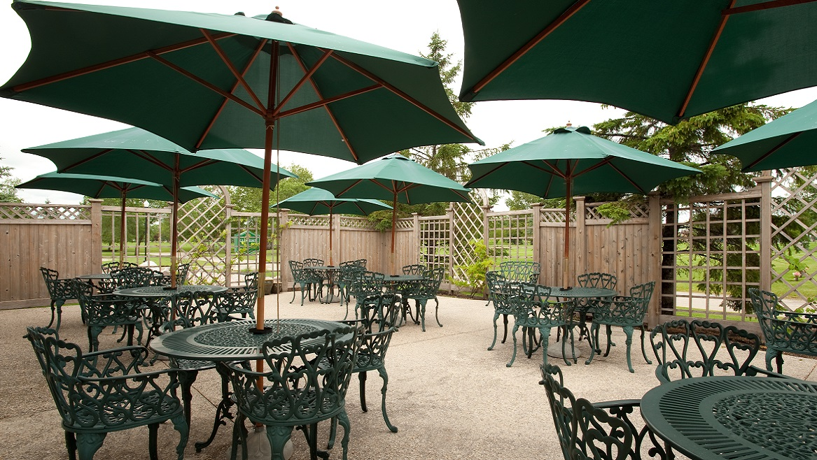 Glen Eden Funeral Home & Cemetery- Outdoor Reception Area