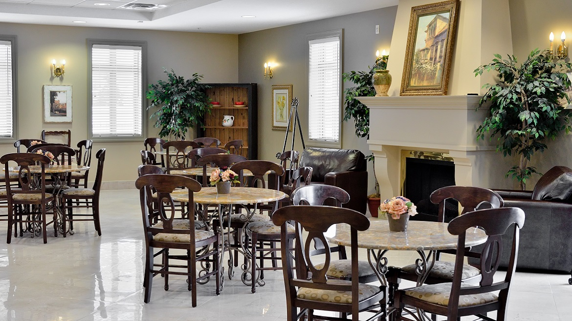 Funeral Home built in 2006 with large reception spaces