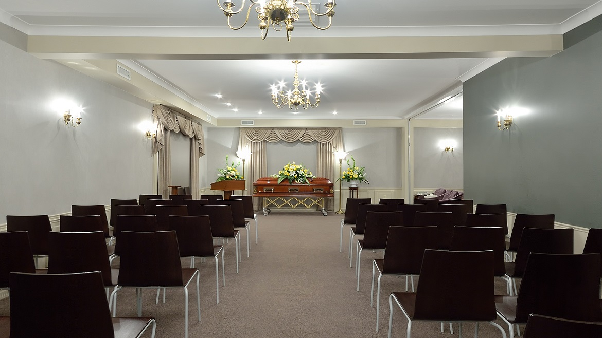 Funeral Home Chapel for large groups