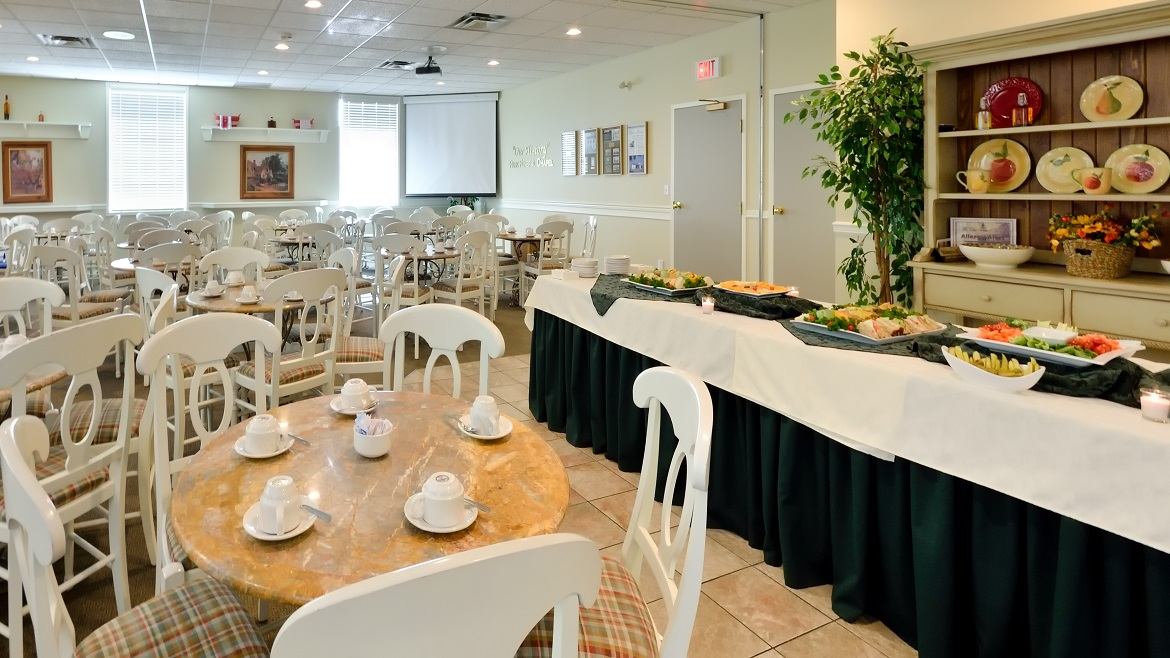 Catering and kitchen facilities available