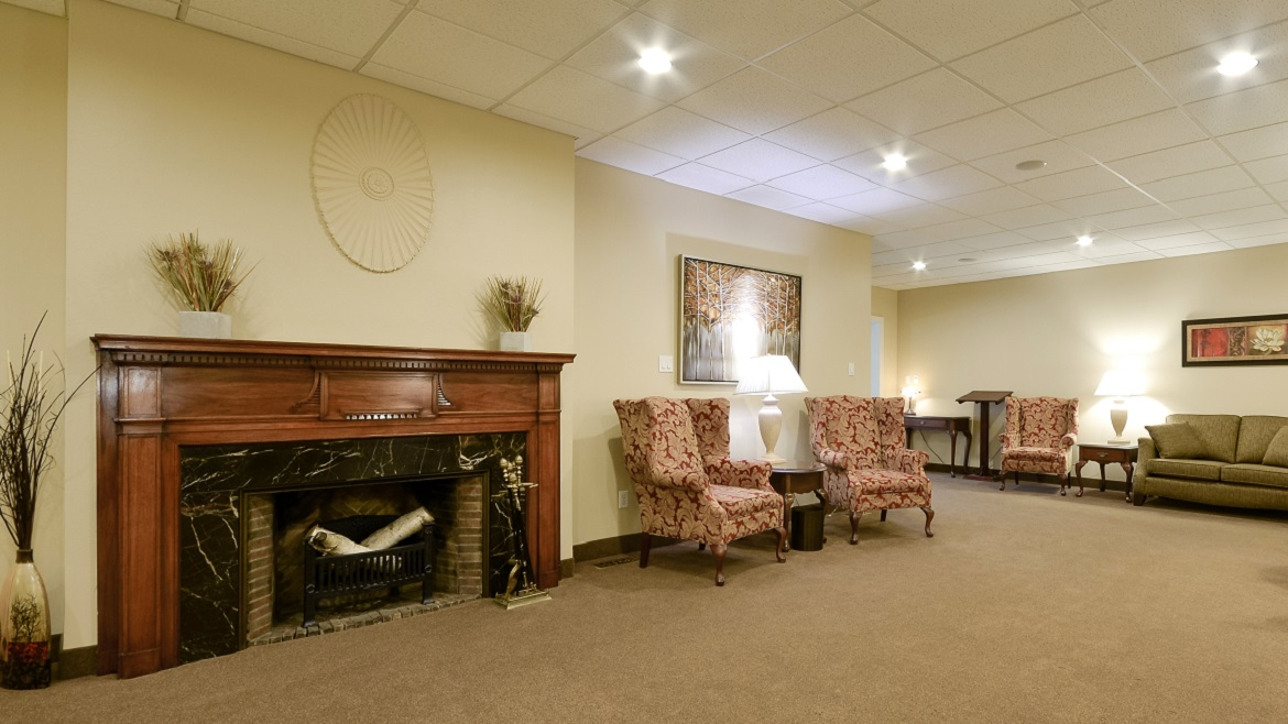 Large reception rooms