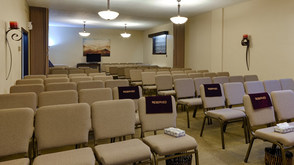 Funeral Chapel with Audio Visual system