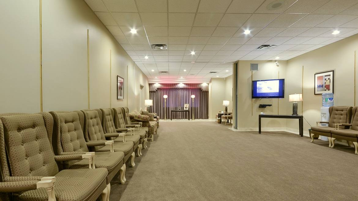Spacious visitation rooms with Audio Visual systems