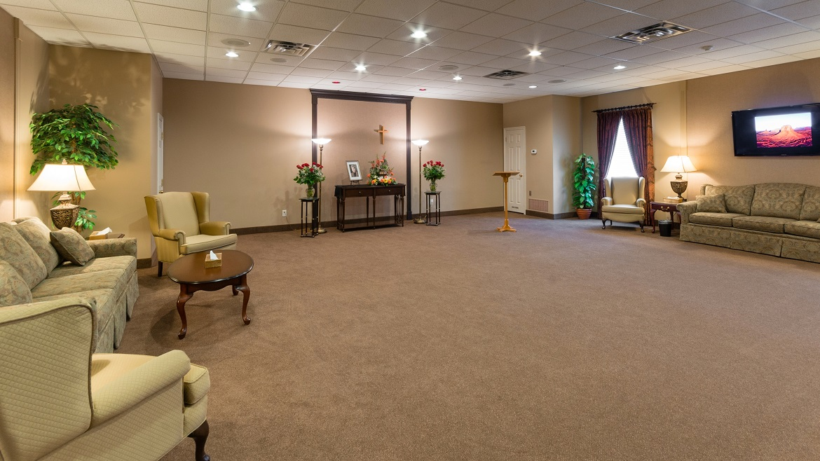Visitation rooms with audio visual systems
