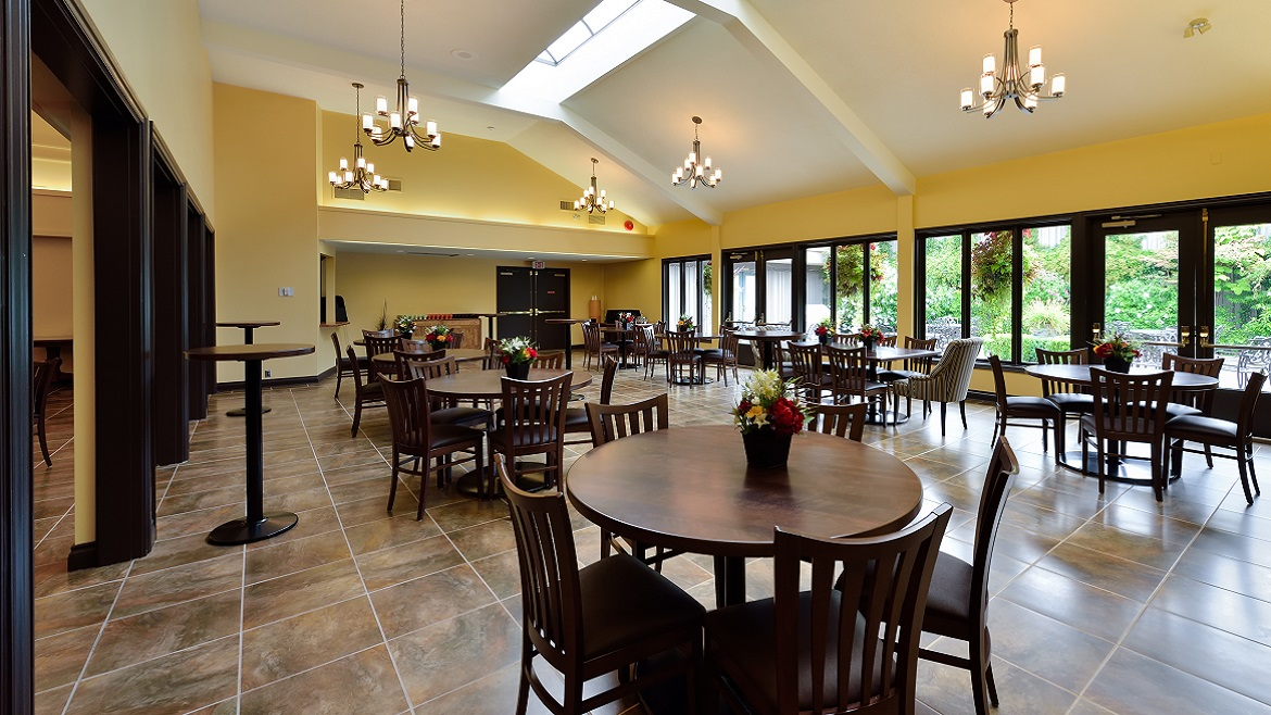 Large reception spaces for Celebration of Life and Memorial events