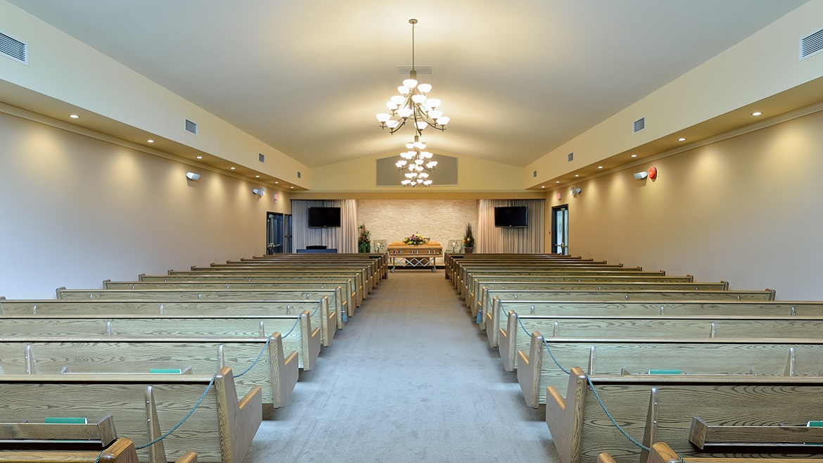 Funeral Home Chapel Seats 325 People