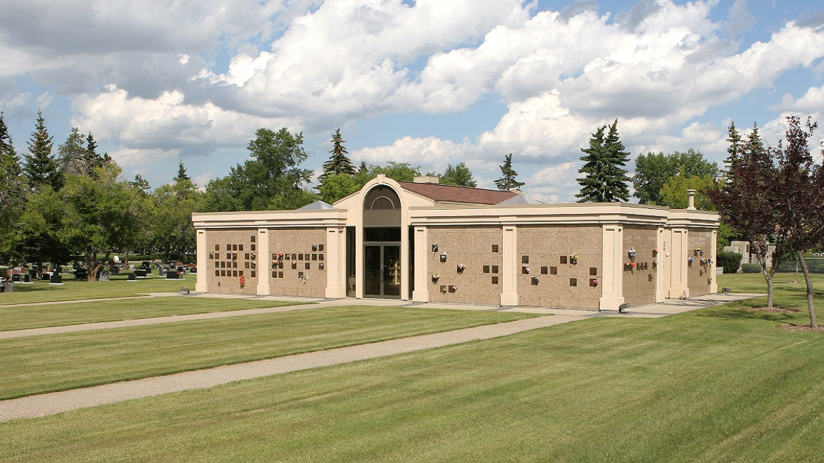 Memorial options- Mausoleums, memorial benches, traditional burials