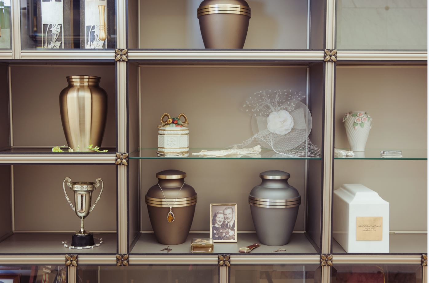 Niches for urns and keepsakes