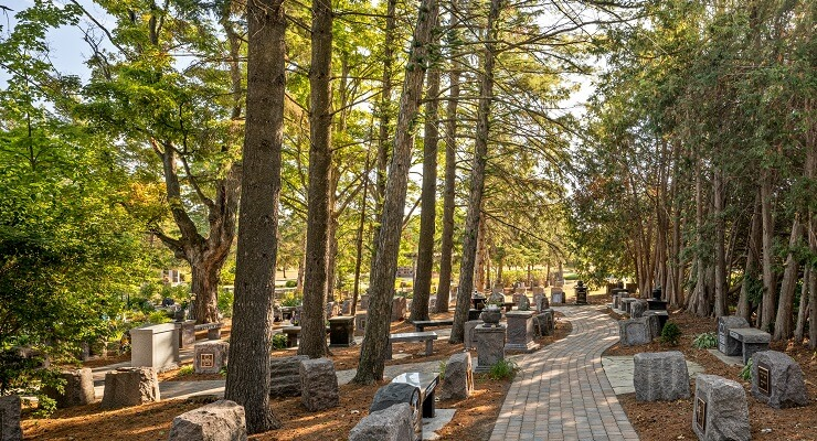 cremation cemetery options
