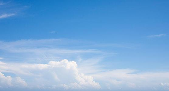 Image of sky and clouds linking to the Obituaries Section