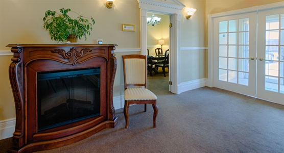 Interior photo of Cole Harbour Funeral Home