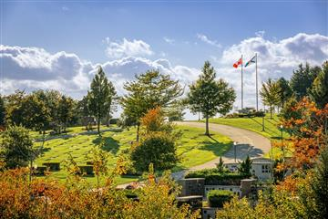 Dartmouth memorial gardens and cemetery