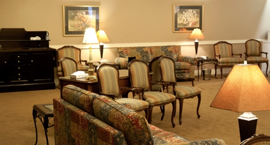 Interior photo of Gordon F. Tompkins Funeral Home - Central Chapel