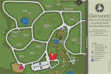 glenwood cemetery map