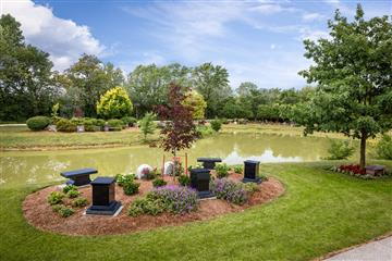 cemetery in old castle