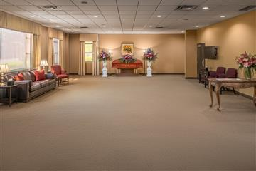 funeral home visitation rooms