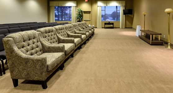 Interior photo of Highland Funeral Home - Scarborough Chapel