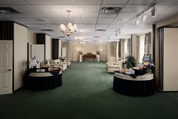 funeral home reception