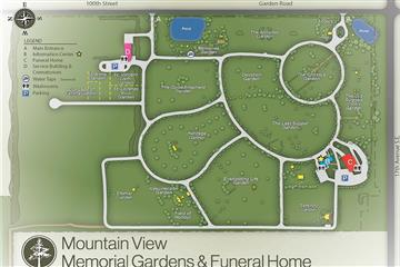 mountain view cemetery map