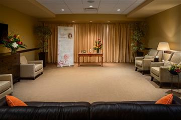 funeral house visitation rooms