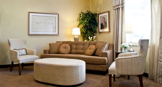 Interior photo of Capital Funeral Home & Cemetery