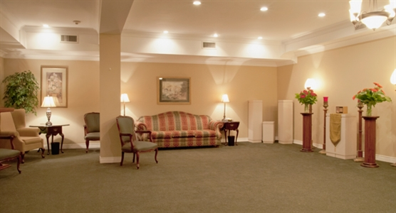 Interior photo of Gordon F. Tompkins Funeral Home - Township Chapel