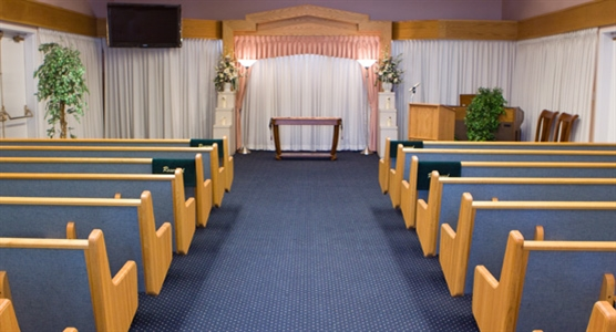 Interior photo of Avalon Surrey Funeral Home