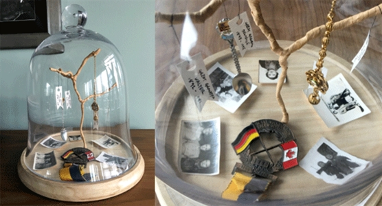 Family tree cloche